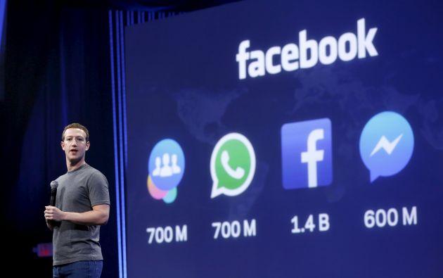 Zuckerberg dijo que Facebook desarrollará también vídeos esféricos para sus gafas de realidad virtual Oculus. Fotos: REUTERS y Facebook.