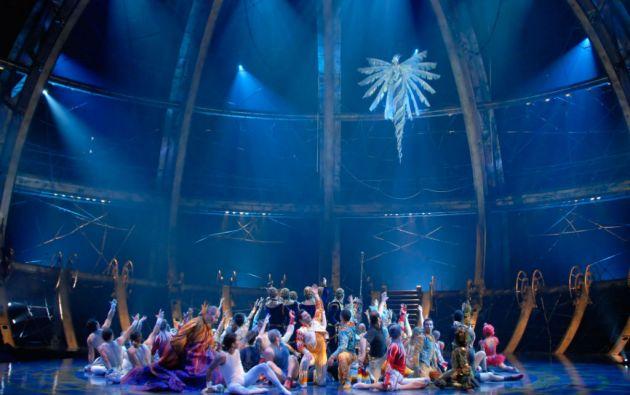 """El grupo de entretenimiento canadiense """"Cirque du Soleil"""" está valorado en 2.000 millones de dólares."""