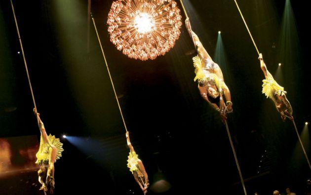 El Cirque du Soleil actualmente emplea a unas 4.000 personas de todo el mundo.
