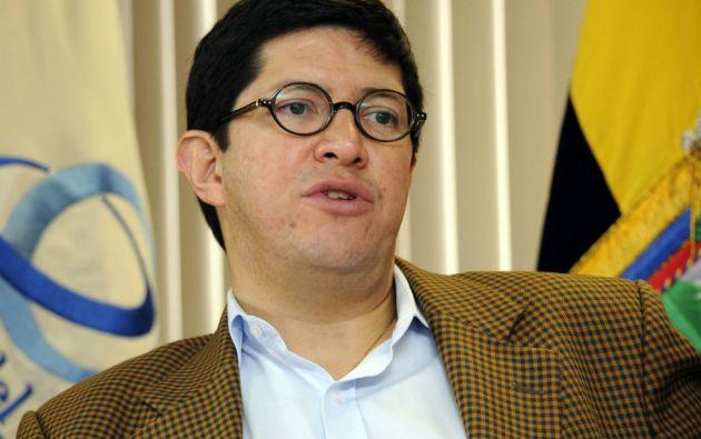 """El ministro Diego Aulestia dijo que Ecuador """"estará reconociendo un 5% del valor de las exportaciones"""" no tradicionales. Foto: Archivo Vistazo"""