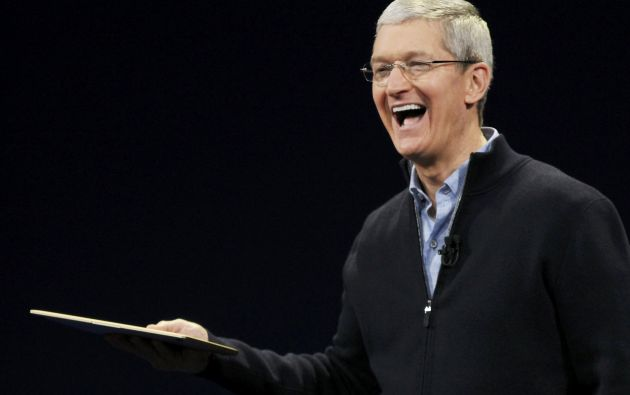 Tim Cook, CEO de Apple. Foto: Archivo / REUTERS.