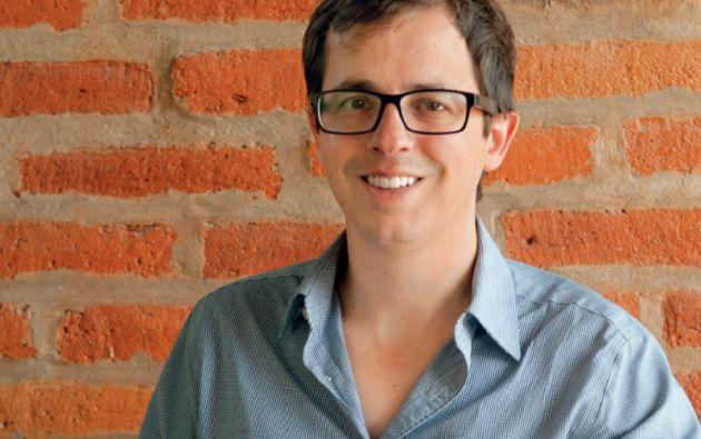 Matthew Carpenter. Exgerente de Ventas de Twitter para Latinoamérica, maneja la agencia de publicidad Grupo Céntrico, en Quito. Foto: César Pasaca