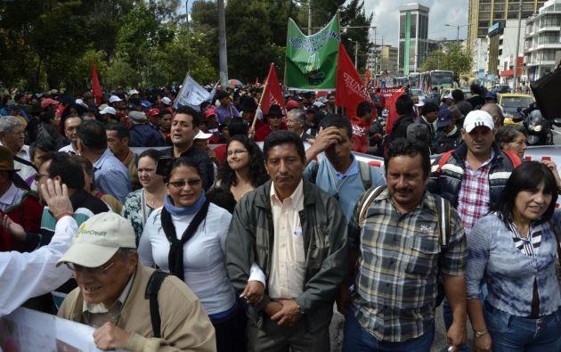 Campesinos no descartan paro nacional si sus reclamos no son atendidos.