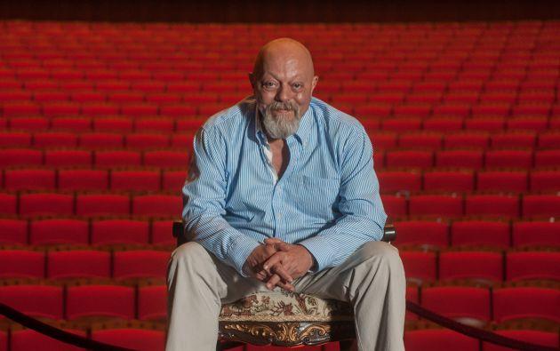 Ramón Barranco, director artístico del Teatro Sánchez Aguilar.