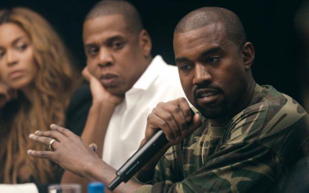 Jay Z convocó en Nueva York a Madonna, Rihanna, Beyoncé y Alicia Keys, entre otros, para presentar Tidal. Foto: Captura de video.