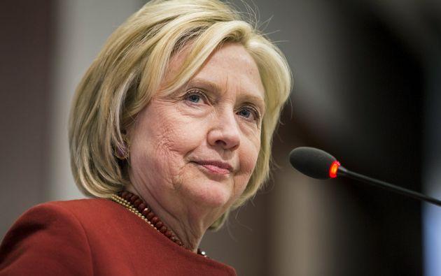Hillary Clinton admitió que usó una única dirección, administrada por un servidor privado, cuando era la responsable de la diplomacia estadounidense. Foto: Archivo / REUTERS.