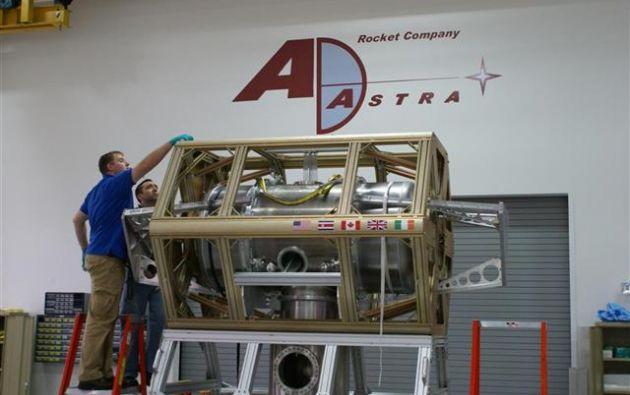 Desde el año 2005, cuando comenzó a gestarse el proyecto, se han invertido 30 millones de dólares en el desarrollo del motor, todo con fondos privados. Foto: Ad Astra Rocket.