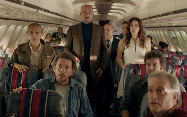 Una de las escenas del filme argentino guarda similitudes con lo ocurrido con el Airbus A320 de Germanwings.