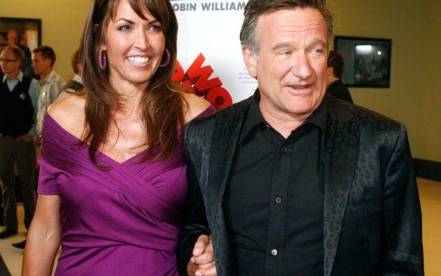 Williams llevaba casado cinco años con Susan Schneider. Foto: REUTERS