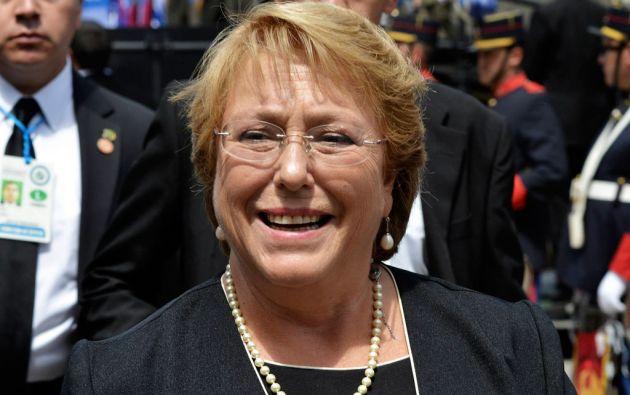 La agenda inicial de Bachelet contemplaba una visita a Ecuador (7 - 8 de abril) y la participación en la VII Cumbre de las Américas (10 y 11 abril) en Panamá. Foto: REUTERS