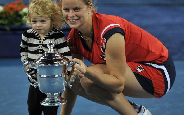 La belga Kim Clijsters ganó el US Open 2009 tras casi dos años y medio de ausencia de las canchas, periodo en el que tuvo una hija.