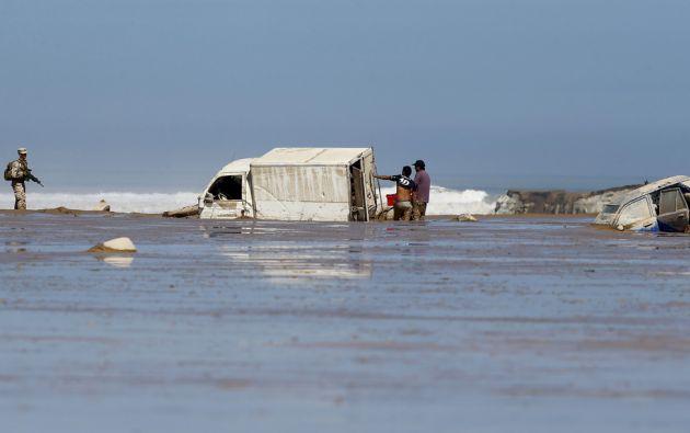 Los graves destrozos que provocó el temporal en varias regiones de Chile dejan hasta el momento 23 muertos, 57 desaparecidos y más de 22.000 damnificados. Foto: REUTERS