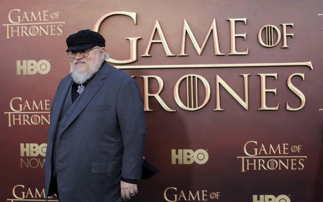 En agosto del año pasado, Martin admitió que la serie de televisión avanzaba más rápido que su capacidad para escribir las novelas. Foto: REUTERS.