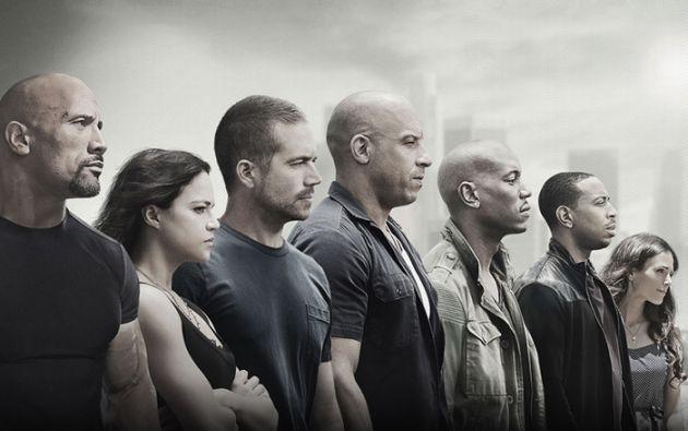 "Las seis cintas de la saga ""Fast & Furious"" recaudaron 2.400 millones de dólares a nivel mundial."