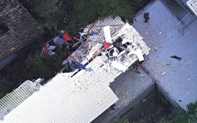 La policía militar informó que los cuatro ocupantes del helicóptero murieron y por lo pronto no manejan informaciones de heridos.