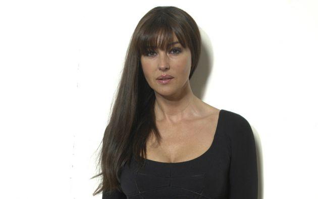"""A sus 50 años, la italiana Mónica Bellucci fue seleccionada como una chica Bond para el filme """"Spectre""""."""