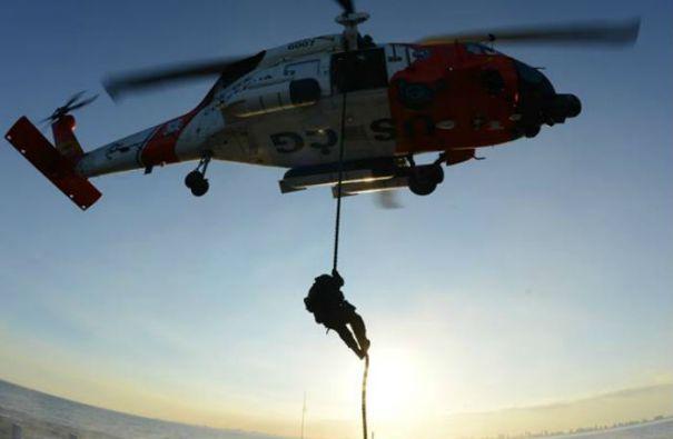 En febrero y tras 10 días de búsqueda, los guardacostas dieron por finalizadas las labores de rescate de Louis Jordan sin lograr hallarlo. Foto: U.S. Coast Guard