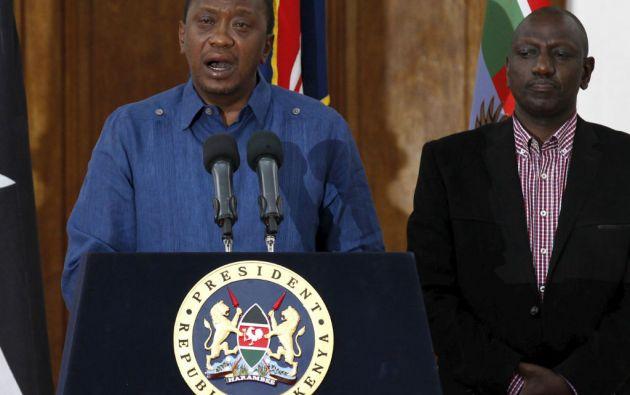 """El presidente de Kenia, Uhuru Kenyatta, calificó de """"bárbaro"""" el ataque en la Universidad de Garissa. Foto: REUTERS"""