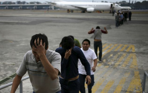 En Honduras son frecuentes las detenciones de personas que ingresan desde Nicaragua, con la intención de llegar de manera ilegal a Estados Unidos. Foto: REUTERS