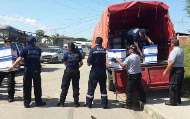 Foto: Cuerpo de Bomberos de Guayaquil