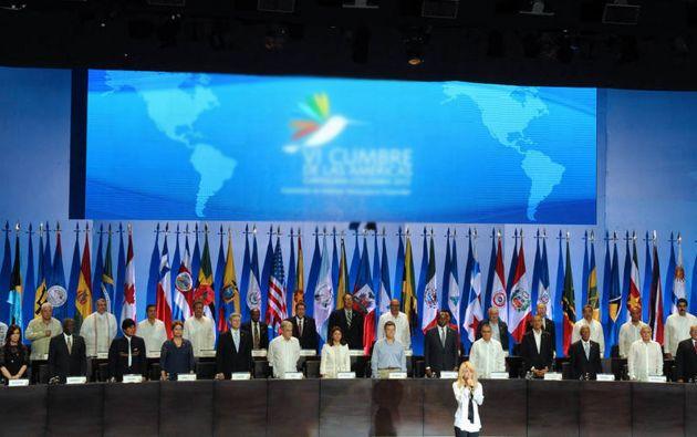 La última Cumbre de las Américas se realizó en 2012 en Colombia.