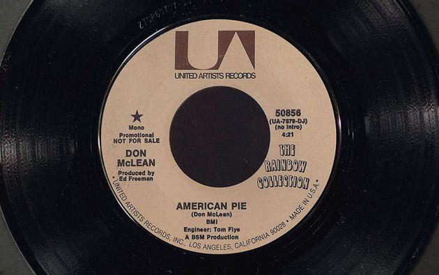 """El tema fue considerado por la Asociación de la Industria Discográfica de Estados Unidos como la """"canción del siglo"""". Foto: Christie's."""