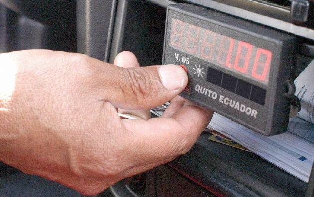 El incremento de tarifas de taxis en la capital causa diferencias entre el cabildo quiteño y el Gobierno.