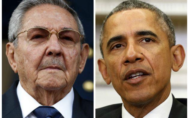 Por primera vez, un presidente estadounidense y uno cubano estarán cara a cara durante la Cumbre de las Américas, sellando el acercamiento entre sus países archienemigos por más de medio siglo. Fotos: REUTERS.