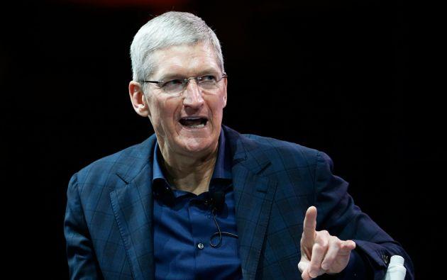 """Tras una larga especulación sobre sus preferencias sexuales, el CEO de Apple, Tim Cook, anunció en octubre pasado que estaba """"orgulloso de ser homosexual"""". Foto: REUTERS"""