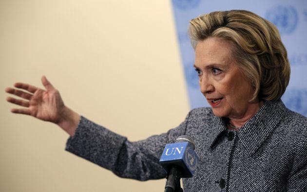 La exprimera dama, que ya fue candidata para las elecciones presidenciales de 2008, podría realizar el anuncio en las redes sociales y en un video el domingo, según el diario The New York Daily News. Foto: Archivo / REUTERS.