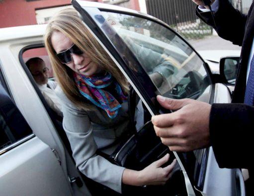 Natalia Compagnon compareció esta semana ante la fiscalía por el Caso Caval. Foto: REUTERS
