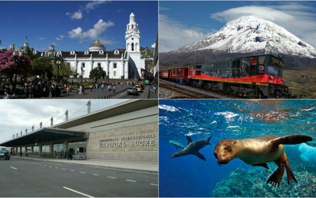 Las Islas Galápagos, la capital ecuatoriana, el Tren Crucero, y el Aeropuerto Mariscal Sucre, son parte de las 28 nominaciones que recibió el país este año.