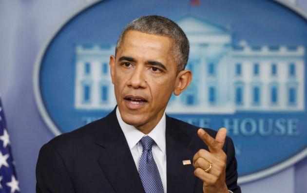 """""""Hay otras personas amigas del presidente y que podrían decidir lanzarse a la carrera"""" electoral, indicó el portavoz de Barack Obama. Foto: REUTERS,"""