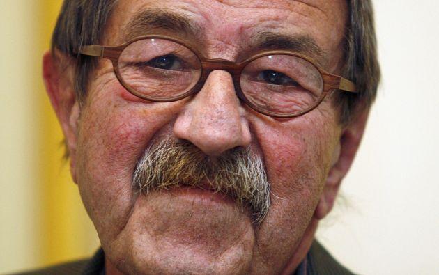 Grass destacó como novelista, dramaturgo y poeta. Foto: REUTERS.
