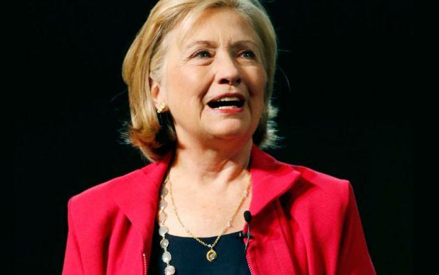 La exprimera dama y exsecretaria de Estado, Hillary Clinton, anunció su candidatura a la presidencia de EE.UU. Foto: REUTERS