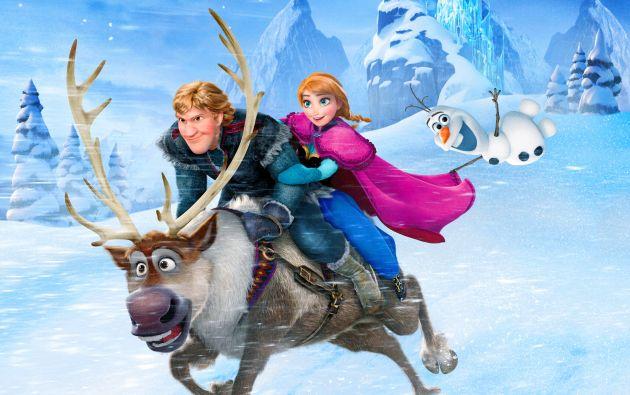 """El disco más vendido de 2014 fue la banda sonora de la película """"Frozen""""."""
