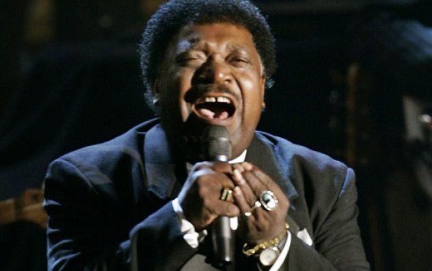 El cantante fue una de las grandes figuras del soul a finales de los años sesenta. Foto: AFP.