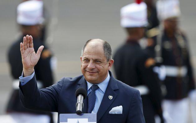 """Las autoridades de Ecuador """"ya ofrecieron una disculpa, nosotros la aceptamos y el asunto quedó zanjado"""", afirmó Solís a la prensa. Foto: REUTERS."""