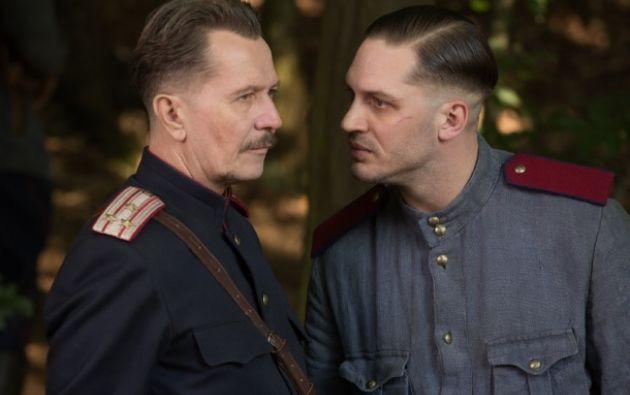 """""""Child 44"""", dirigida por el sueco Daniel Espinosa, cuenta en su reparto con actores del prestigio de Gary Oldman y Noomi Rapace, debía estrenarse el viernes en Rusia."""
