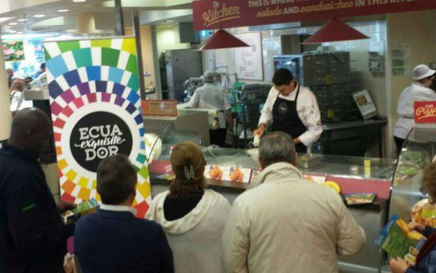 """""""Ecuador Exquisito"""", el satnd que representará al país en el Salon de Gourmets de Madrid. Foto: PRO ECUADOR"""