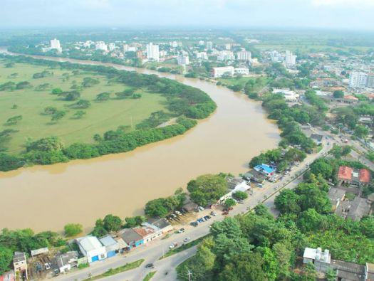 Montería es una de las ciudades con mayor crecimiento y desarrollo de Colombia en torno a su río, el Sinú.