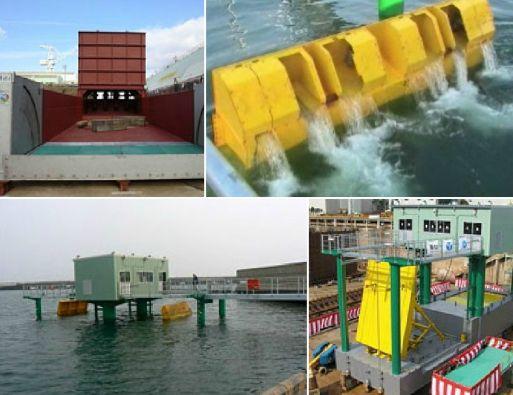 Los muros construidos para ensayos han demostrado su eficacia para aguantar olas de hasta 10 metros de altura.