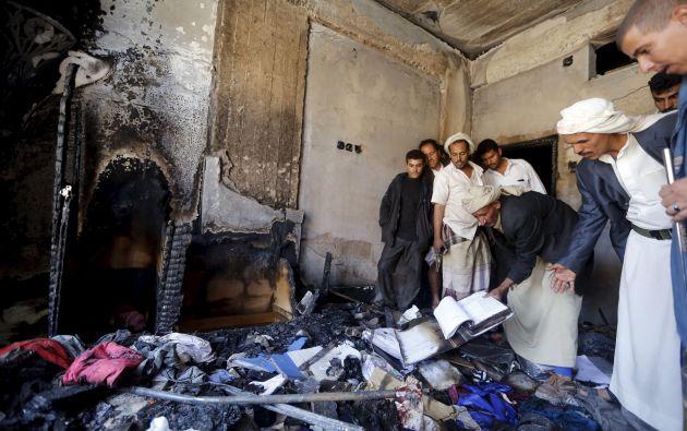 En total, son 128 los fallecidos en los dos últimos días en Yemen. Foto: REUTERS.