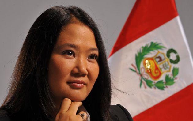 La hija del expresidente Alberto Fujimori también encabeza la lista de los políticos con mayor simpatía.