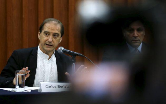 Psicólogo español Carlos Beristain. Foto. REUTERS