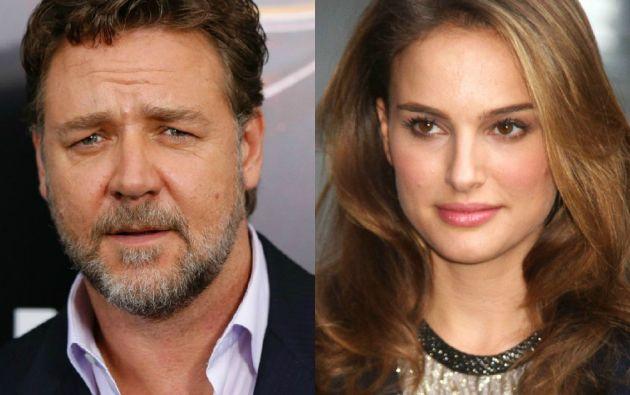 """De actores a directores. Russell Crowe estrenará """"The Water Diviner"""", mientras que Natalie Portman prepara """"A tale of love and darkness""""."""