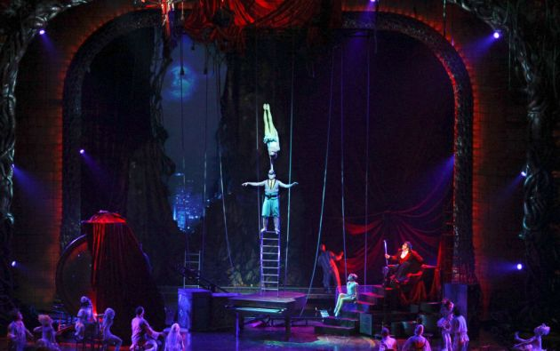 Los 8 espectáculos de Las Vegas generan la mitad de los ingresos del Cirque Du Soleil, mientras que el resto (incluidos shows itinerantes en carpas) luchan por dar réditos.