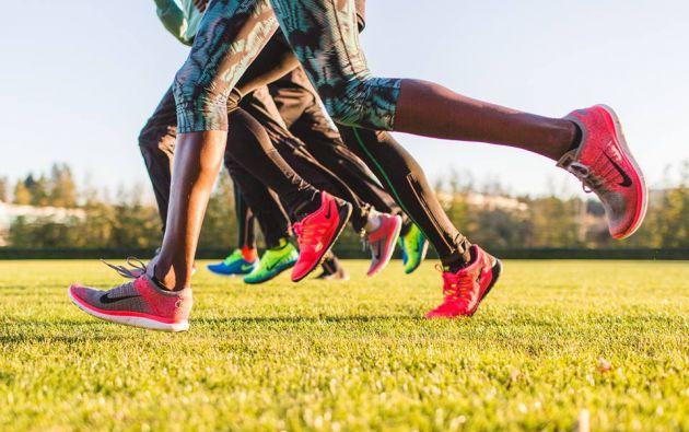 Estas apps permiten calcular la distancia recorrida, el tiempo,la geolocalización, generar estadísticas, entre otras funciones. Foto: Facebook / Nike Running.