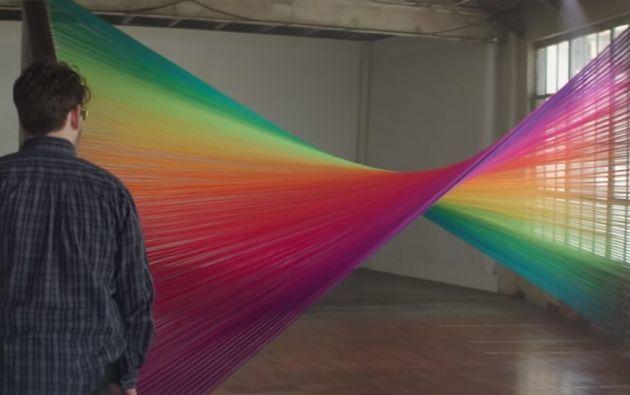 Casi 300 millones de personas en el mundo padecen de daltonismo. Foto: Captura de video.