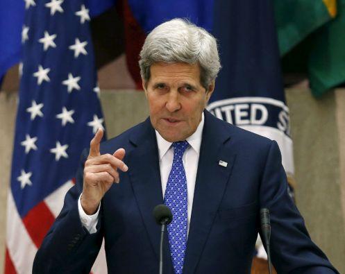 """John Kerry señaló que en Latinoamérica los """"jóvenes están más preocupados ahora por el futuro que por el pasado"""". Foto: REUTERS"""